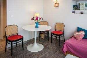 Coin salon dans l'établissement Studio des Musiciens - quartier Orangerie