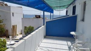 Μπαλκόνι ή βεράντα στο Ξενοδοχείο Εσπερίδες