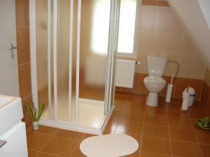 A bathroom at Ubytování Jelínková