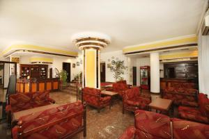 The lobby or reception area at Hotel Splendid Ruse