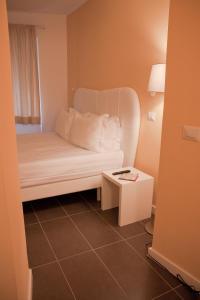 Coin salon dans l'établissement Roma Resort Trevi