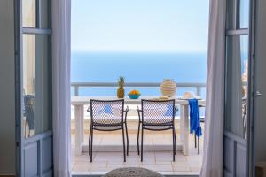 A balcony or terrace at Enastron Suites
