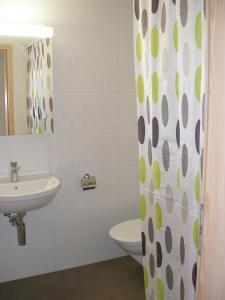 Ein Badezimmer in der Unterkunft Gasthof Rössli