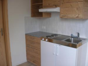 Küche/Küchenzeile in der Unterkunft Gasthof Rössli