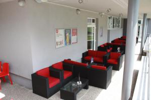 A seating area at MC Hostel Brezice