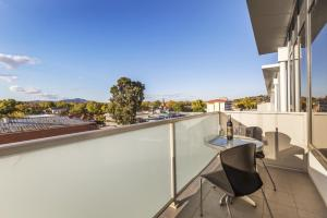 A balcony or terrace at Quest Albury