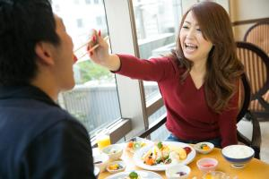 Guests staying at Heiwadai Hotel Tenjin