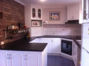 A kitchen or kitchenette at Blueberry B&B