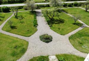 A view of the garden at Höganlid Bed & Breakfast or nearby