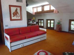 Area soggiorno di Villa Vista