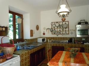 Cucina o angolo cottura di Villa Vista