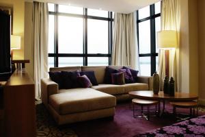 Un lugar para sentarse en Turismo Hotel Casino