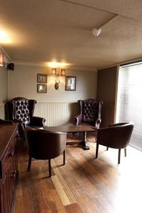 A seating area at The Crown Inn