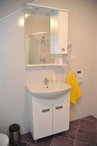 Koupelna v ubytování Apartments Žugec