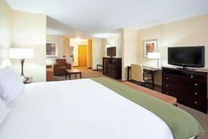 A television and/or entertainment center at Holiday Inn Express Hotel & Suites Nogales