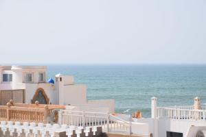 A general sea view or a sea view taken from the riad