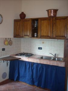 A kitchen or kitchenette at Casa Panciolle