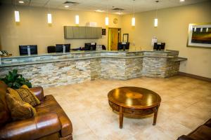 The lobby or reception area at Ocean Landings Resort