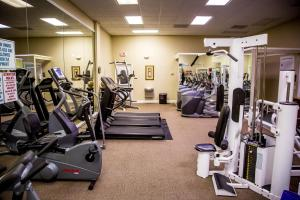 The fitness center and/or fitness facilities at Ocean Landings Resort