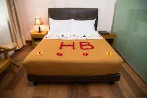 A room at Hotel Bahosi