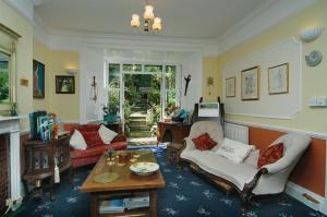 A seating area at Croft House B&B