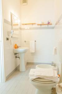 Ванная комната в Alloggio Cavour
