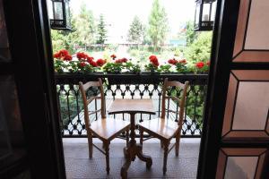 Балкон или терраса в Hotel Diana & apartments