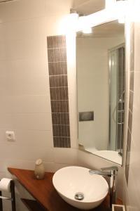 A bathroom at Perrache Sainte Blandine