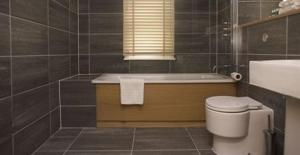 A bathroom at Reading Serviced Apartments