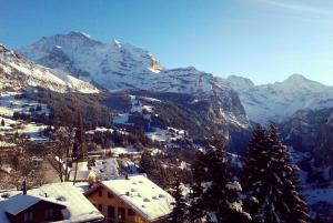 Chalet Miravalle during the winter