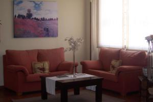 A seating area at Hotel Restaurante Los Prados