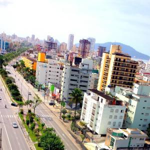 Uma vista aérea de Dom Pedro 55