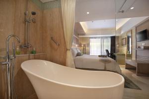 Ванная комната в SenS Hotel and Spa