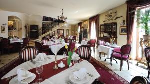 Restaurant ou autre lieu de restauration dans l'établissement Hotel Diament Bella Notte Katowice - Chorzów