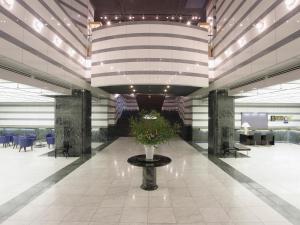 The lobby or reception area at Hotel Nikko Tsukuba