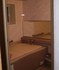 A bathroom at Ryokan Kyoka