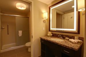 A bathroom at Homewood Suites by Hilton Palo Alto