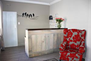 The lobby or reception area at Green Kalahari Guesthouse