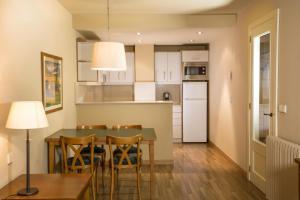 Küche/Küchenzeile in der Unterkunft Aparthotel Shusski