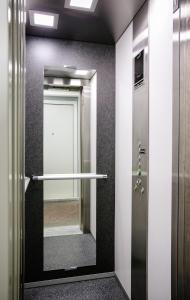 A bathroom at Sleep Split