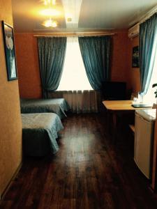 Гостиная зона в Гостиница Классик