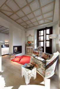 Zona de estar de Casa Palacete 1822