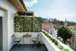 Uma varanda ou terraço em Villa Lunae - Sintra Flats