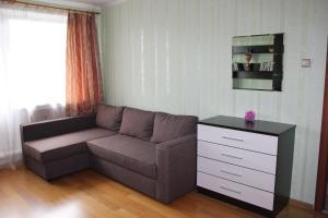 Гостиная зона в Apartment on Grazhdanskiy 114 K1