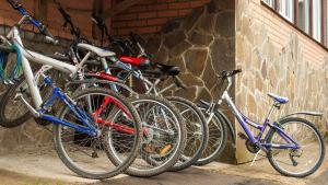 Катание на велосипеде по территории Боярская Усадьба или окрестностям