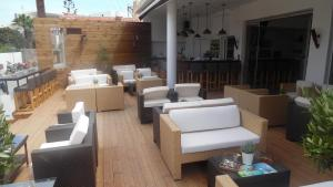 """The lounge or bar area at Despina Apartments """"by Checkin"""""""