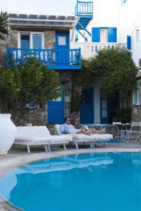 The swimming pool at or near Voula Apartments & Rooms