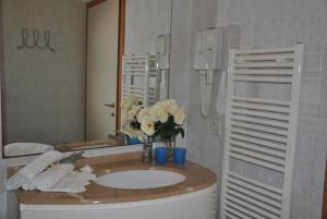 Salle de bains dans l'établissement Residence Du Parc