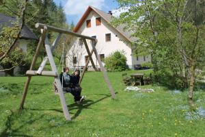 Children's play area at The farmhouse Bevsek Osep