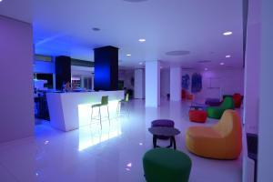 Lounge nebo bar v ubytování Giulivo Hotel & Village